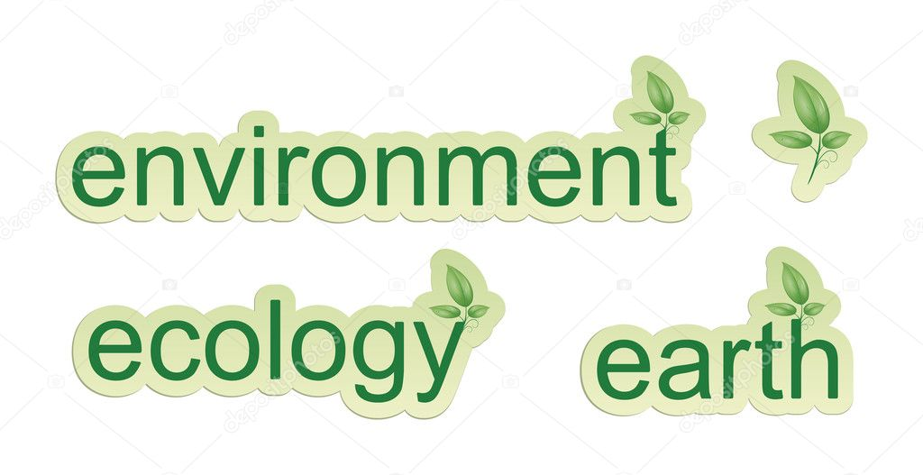 An image of some green web icons  Stock Photo #4628973