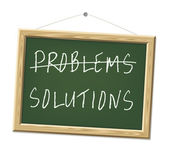 Problems and solutions — 图库照片