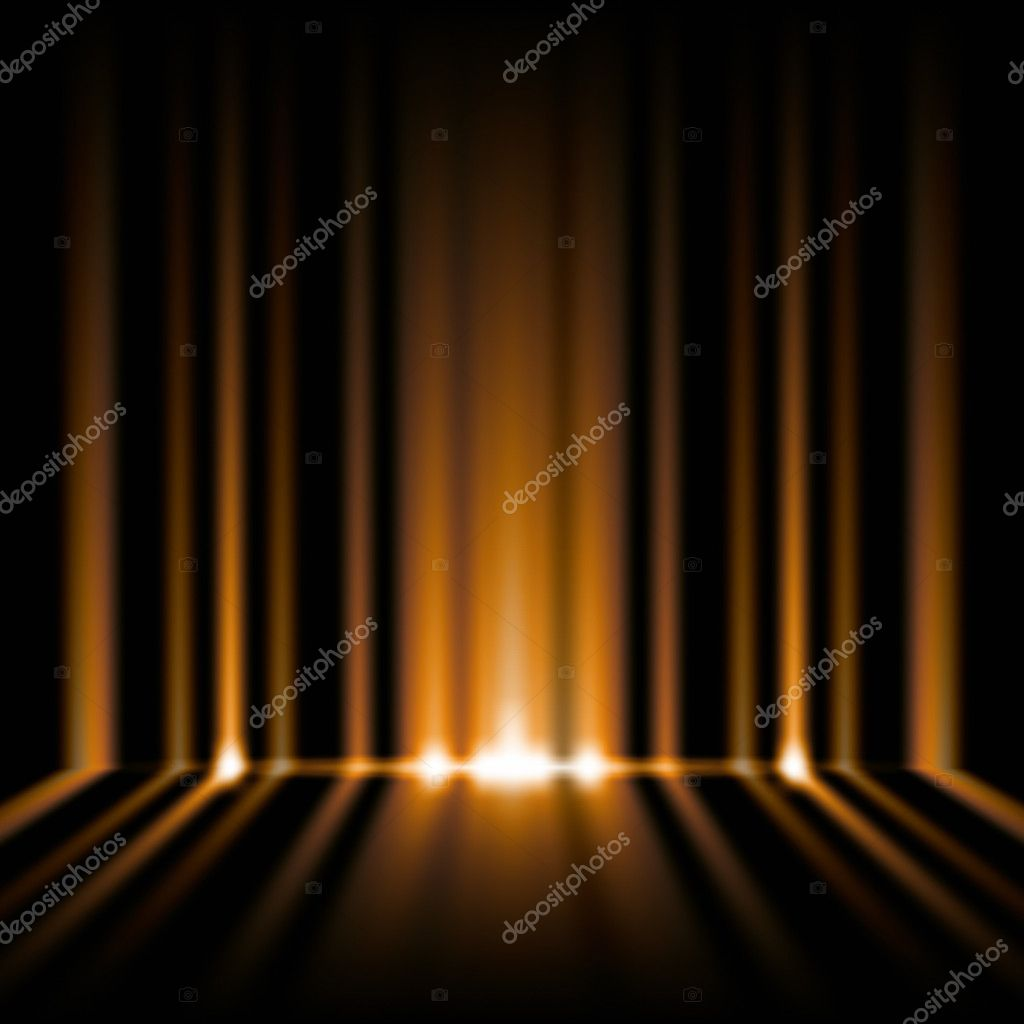 An image of an orange lights background — Stock Photo #5028886