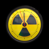 Radioactive clock — Stock Photo