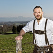 Royalty-Free Stock Photo: Handsome bavarian