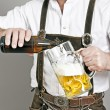 Bavarian tradition - Stock Photo