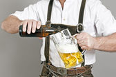 Bavarian tradition — Stock Photo