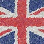 United kingdom mosaic — Stock Photo
