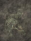 Skelet — Stockfoto