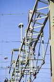 Hight spanning lijn — Stockfoto