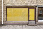 Door of an old shop — Stock Photo