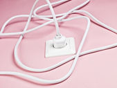 Kable elektryczne — Zdjęcie stockowe