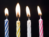 Birthday Candles — 图库照片