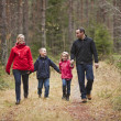 Walking Family — Stock Photo #4175666