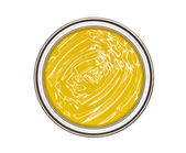 Yellow Paint can — Stock Photo