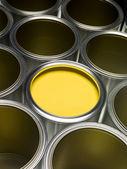 Sarı boya — Stok fotoğraf