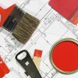 Painting Equipment - Foto Stock