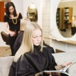 Girl in the Beauty Spa — Stock Photo