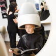 Girl at the Beauty Spa — Stock Photo #5377397