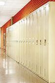 Row of lockers — Stock Photo