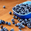 Blueberries on table — Stock Photo #4421402