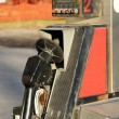 Stock Photo: Old rusted gas pump