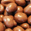 Milk chocolate almonds — Stock Photo