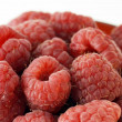 Raspberries up close — Stock Photo #5215755