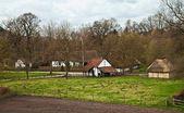 Flemish village — Stock Photo