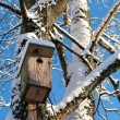 Stock Photo: Nesting box