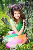 Fairy portrait — Stock Photo