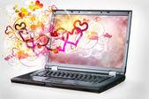 Online Love — Stock Photo