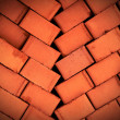 Pile of brick — Stock Photo