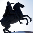 Bronze Horseman — Stock Photo