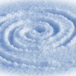 Spiral labyrinth — Stock Photo