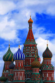 St. Basils Cathedral, Russia — Stock Photo