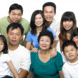 famille asiatique — Photo
