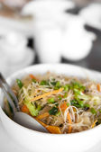 Singapore noodles — Stock Photo