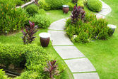 Garden Path — Stock Photo