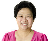 Senior Asian Woman — Stock Photo