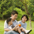 Foto Stock: Asian family