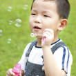 Blowing bubbles — Stock Photo #4906982