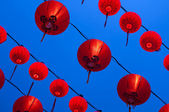 Red lanterns — Stock Photo