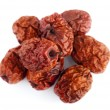 Dried jujube fruits/Chinese dates - Stock Photo