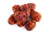 Dried jujube fruits/Chinese dates — Stock Photo