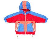 Baby hooded jacket and pocket — Stock Photo