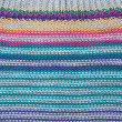 Stock Photo: Background from knitted colors fabrics
