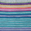Background from knitted colors fabrics — Stock Photo