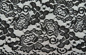 Background from black lace with pattern with form flower — Стоковое фото