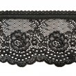 Black lace - Stock Photo
