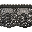 Black lace — Stock Photo
