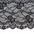 Royalty-Free Stock Photo: Black lace with pattern with form flower