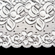 Decorative white lace — Stock Photo