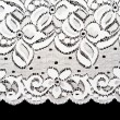 Stock Photo: Decorative white lace